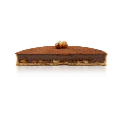 Cognac Caramel Chocolate Tart